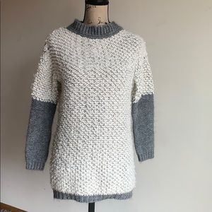 Cocogio chunky tight knit sweater